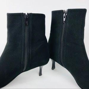 Stuart Weitzman Shoes - Stuart Weitzman Black Goretex Buckle Booties